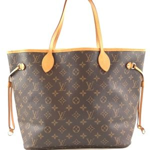 Neverfull NeoBrown Coated Canvas Shoulder Bag